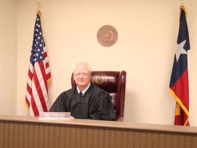 Justice of the Peace, Pct. 2 Bart Greenway