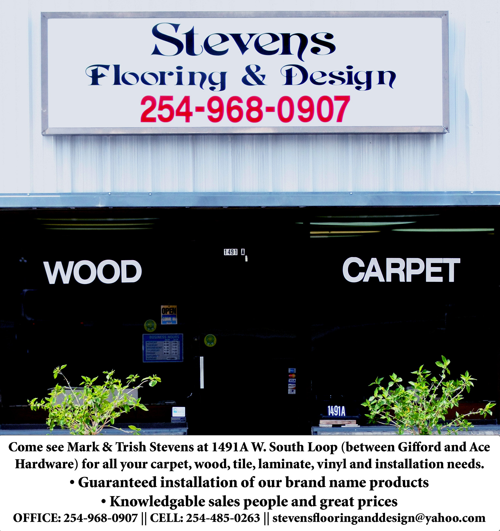 Stevens Flooring web