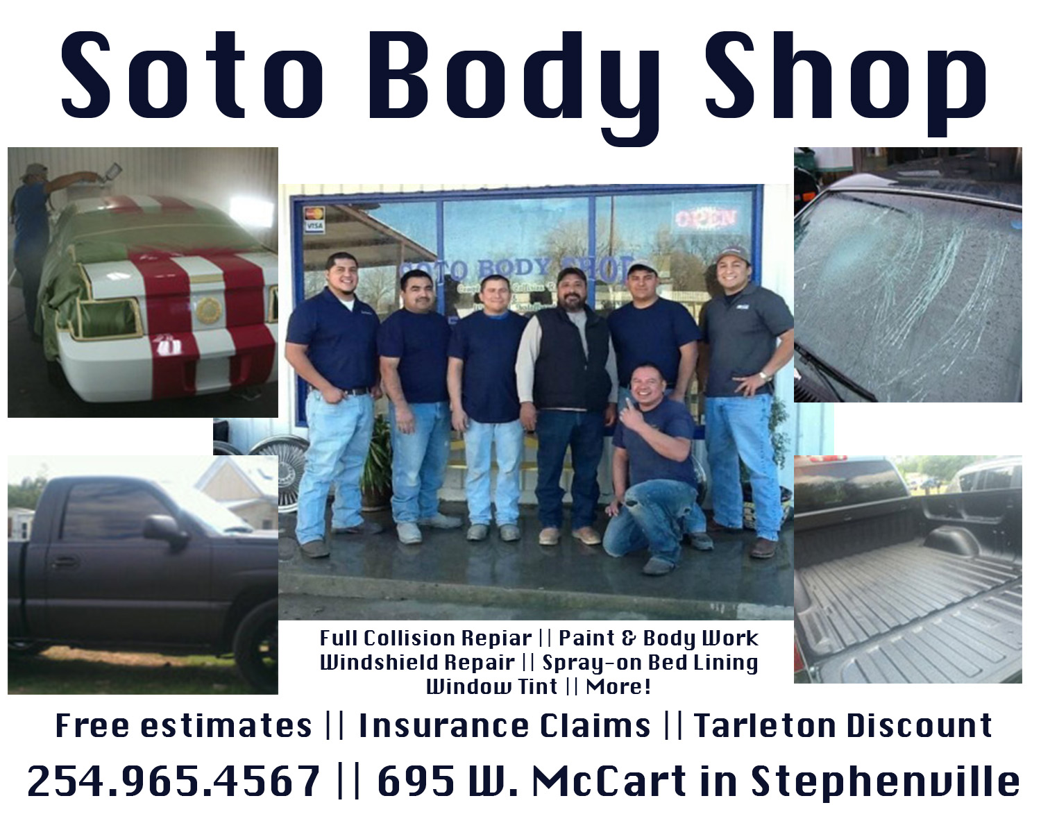Soto Body Shop Ad