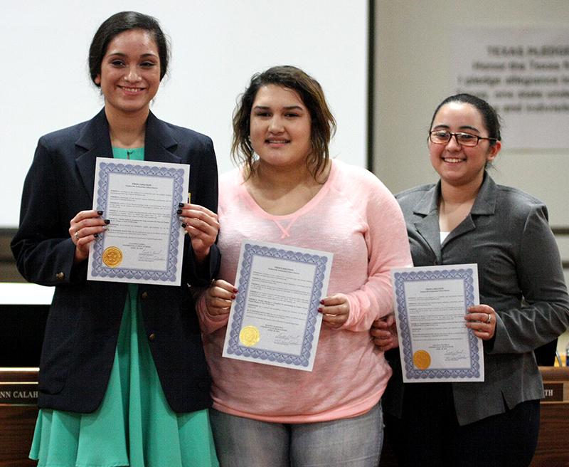 FCCLA students