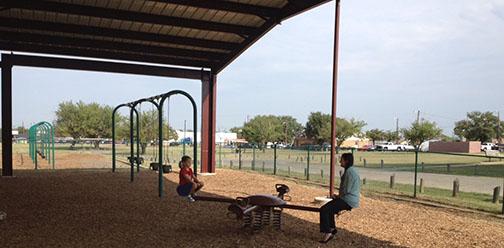 Optimist park improvements FEATURE