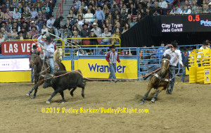 NFR Rd 4 Clay Tryan