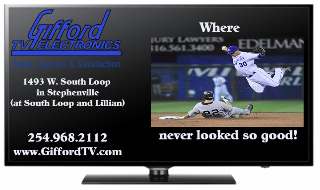 Gifford TV Fill in Ad