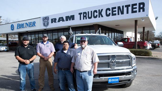 Bruner opens ram truck center in stephenville the flash for Bruner motors stephenville tx