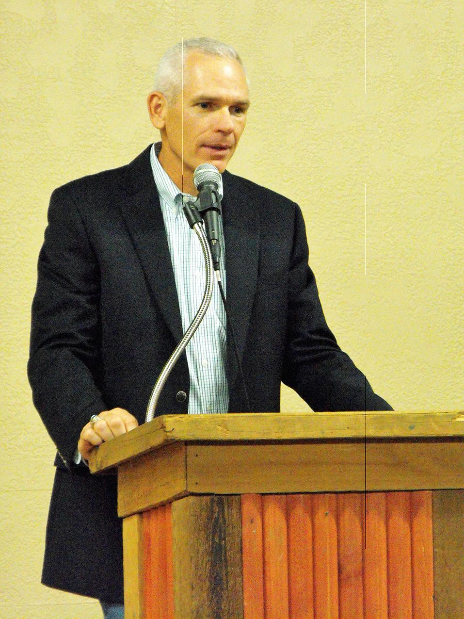 Stafford Retirement Mayor Kenny Weldon