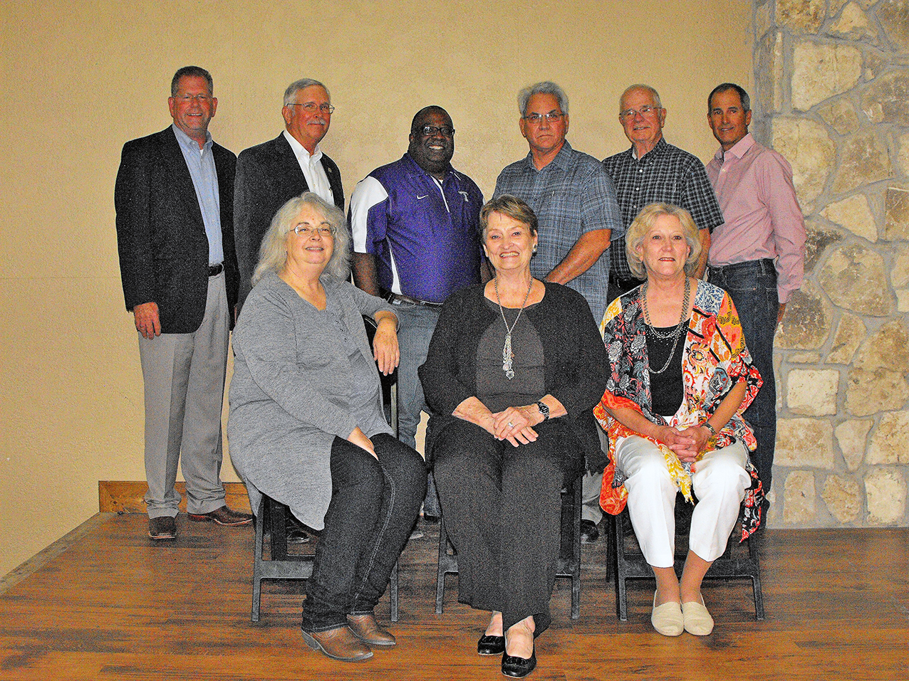 Stafford Retirement Stafford Retirement Cindy with past City Council Members