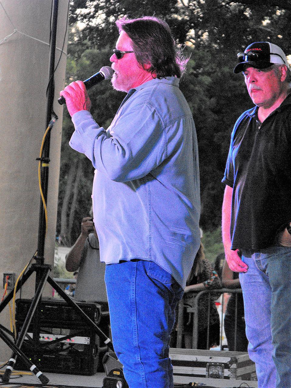 Summer Concert Series 14 Larry Joe Taylor and Lloyd Maines