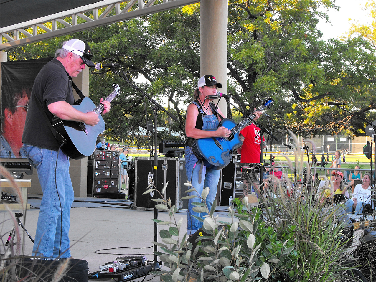 Summer Concert Series 2 Terry Hendrix & Lloyd Maines