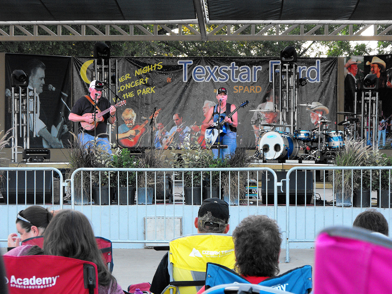 Summer Concert Series 9 Terry Hendrix & Lloyd Maines