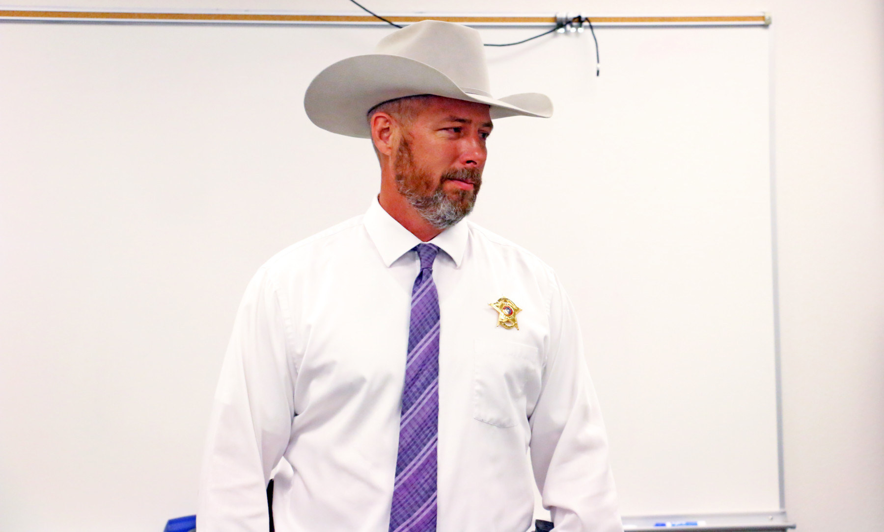 Erath County Sheriff Matt Coates