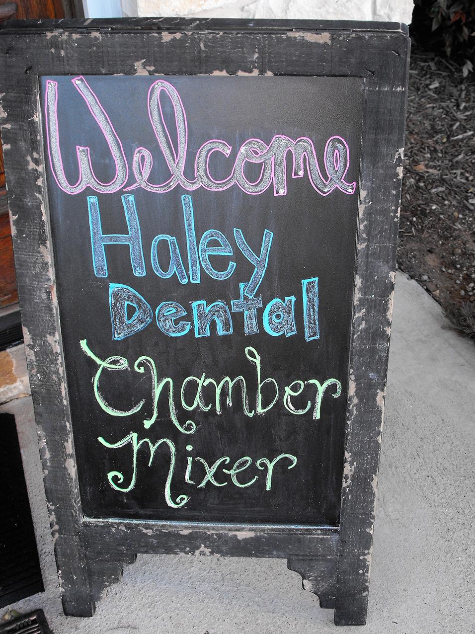 Chamber Mix at Haley Dental Office 1