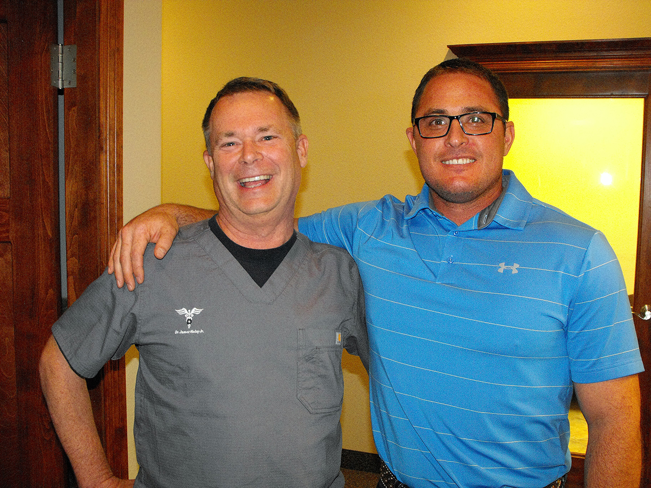 Chamber Mix at Haley Dental Office 3 Dr. Haley and Dr. Navarro
