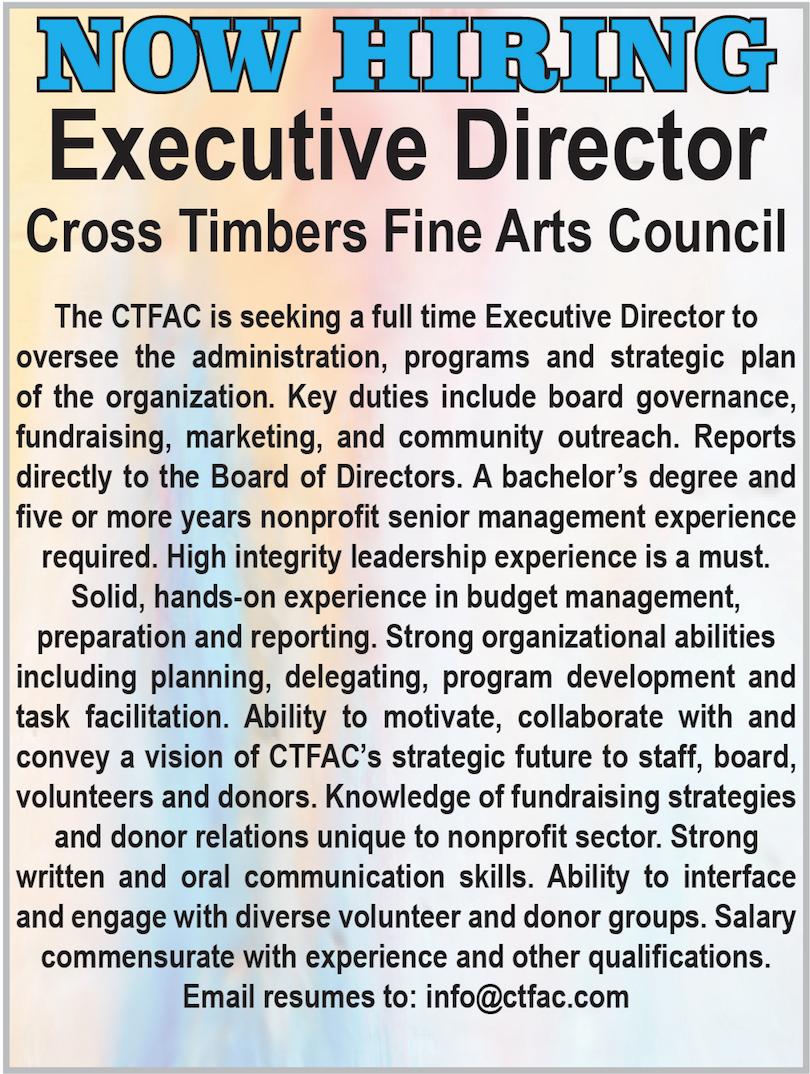 CTFAC hiring ad